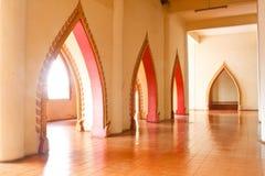 Temple dans Kanchanaburi, Thaïlande Images stock