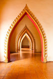 Temple dans Kanchanaburi, Thaïlande Photographie stock libre de droits