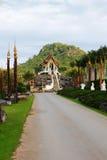 Temple dans la distance Photographie stock