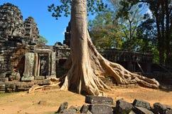 Temple dans la jungle Image libre de droits