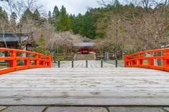 Temple dans la région de Koyasan dans Wakayama Japon Photos libres de droits