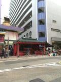Temple dans la ville Image stock