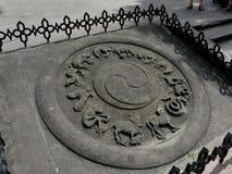 Temple dans la ville de Guiyang, Chine photographie stock