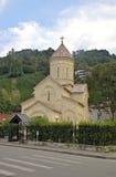 Temple dans la ville de Sarpi Adjara georgia image libre de droits