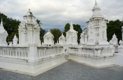Temple dans le chiangmai Image libre de droits