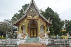 Temple dans le chiangmai Images libres de droits