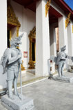 Temple dans le Musée National Bangkok Thaïlande Photo stock