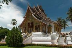 Temple dans le prabang Laos de Luang Image stock