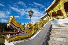 Temple dans Luang Prabang photos stock