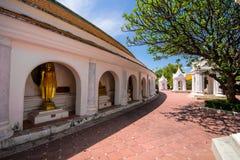 Temple dans Nakhon Pathom Image stock