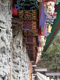 Temple dans PO Lin Monastery Hong Kong photographie stock