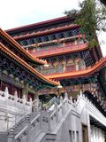 Temple dans PO Lin Monastery Hong Kong Images stock