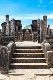 Temple dans Polonnaruwa, Sri Lanka Images stock