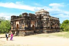 Temple dans Polonnaruwa, Sri Lanka Photos stock