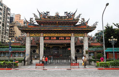Temple dans Taiwan Images stock