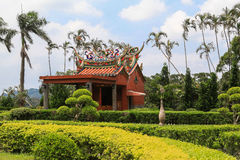 Temple dans Taiwan Photos stock