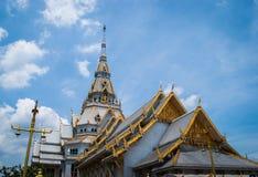 Temple dans thaï Images stock