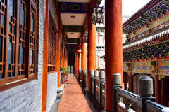 Temple. Dapeng Dongshan Temple (ancient architecture), Shenzhen China Royalty Free Stock Photo