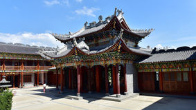 Temple. Dapeng Dongshan Temple (ancient architecture), Shenzhen China Stock Image