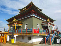 Temple. Datsan building, Buddhism in Buryatia Stock Photo