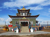 Temple. Datsan building, Buddhism in Buryatia Royalty Free Stock Image