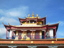 Temple. Datsan building, Buddhism in Buryatia Stock Photos