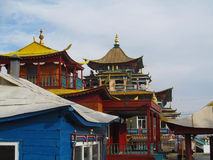 Temple. Datsan building, Buddhism in Buryatia Royalty Free Stock Photography