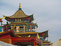 Temple. Datsan building, Buddhism in Buryatia Royalty Free Stock Images