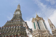 Temple of the Dawn in Bangkok Royalty Free Stock Photo