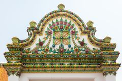 Temple of dawn close up decoration in Bangkok, Thailand. Temple of dawn close up decoration in Bangkok Thailand Stock Images