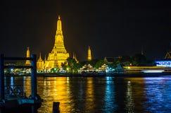 Temple of Dawn o Wat Arun immagine stock libera da diritti