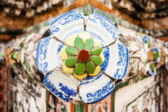 Temple of Dawn ornament stock images