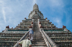 Temple of Dawn (Wat Arun) Fotografia de Stock Royalty Free