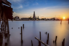 Temple of Dawn, Wat Arun, Bangkok, Thailand Stockfoto