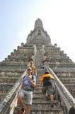 The Temple of Dawn Wat Arun Stock Photo