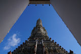 The Temple of Dawn. ( Wat Arun) and a beatiful sunshine ,Bangkok,Thailand Royalty Free Stock Image