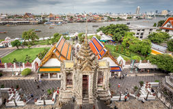 The Temple of Dawn ,Wat Arun Thailand Royalty Free Stock Photo
