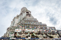 The Temple of Dawn ,Wat Arun Thailand Stock Photo