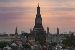 Temple of Dawn or Wat Arun Royalty Free Stock Photos