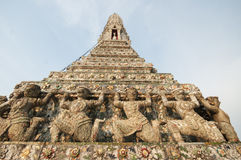 Temple of Dawn (Wat Arun) Royalty Free Stock Photography