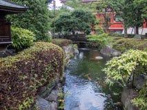 Temple de 寺 de ‰ de  d'è de æµ de Sensoji…, Tokyo, Japon, jardin Image stock