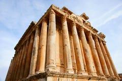 Temple de Bacchus Photos stock
