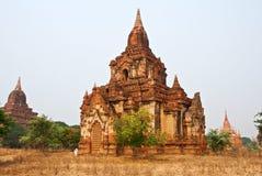 Temple de Bagan image libre de droits
