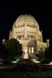 Temple de Bahai chez Chicago photographie stock