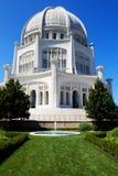 Temple de Bahai Chicago Photo libre de droits
