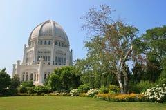 Temple de Bahai Chicago Photographie stock libre de droits