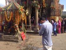 Temple de Baijnath dans HP Image libre de droits