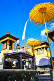 Temple de Balinese Images stock