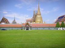 Temple de Bangkok d'Emerald Buddha Photos stock