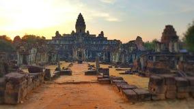 Temple de Banteay Kdei Image libre de droits
